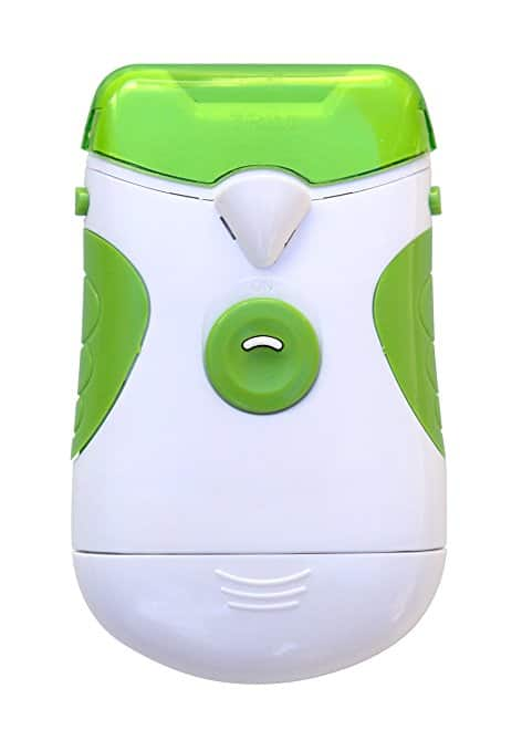 Roto Clipper Electric Nail Trimmer and Nail File, Electronic Manicure Pedicure Tool, File and Trim Hand and Toe Nails Effortlessly, White & Green- $4.06 @amazon