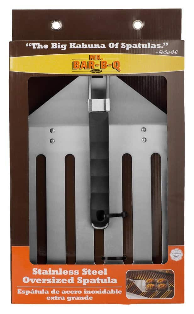 Mr. Bar-B-Q 02538XOB Stainless Steel Oversized Spatula - $8.86 @ Amazon