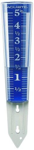 AcuRite 00850A2 5-Inch Capacity Easy-Read Magnifying Rain Gauge- $3.98 @amazon.com ADD-ON item