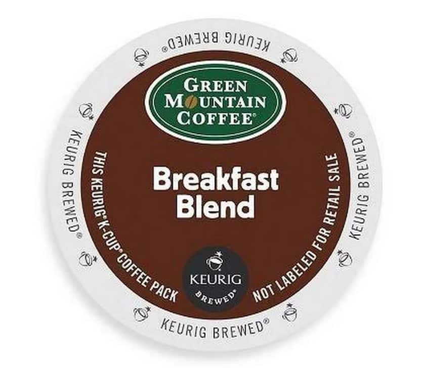 Borsari Food Company Green Mountain Coffee Breakfast Blend, K-Cup Portion Pack for Keurig K-Cup Brewers - 120 COUNT $6.79 - YMMV, price or amount error?