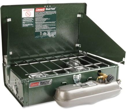 Coleman Dual Fuel Guide Series 424 2 Burner Stove B&M WalMart $25