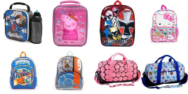 Toys R Us Kids Backpacks and Lunchboxes 50% Off Starting at $2.50