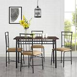 Mainstays 5 Piece Dining Set $69.30 FS