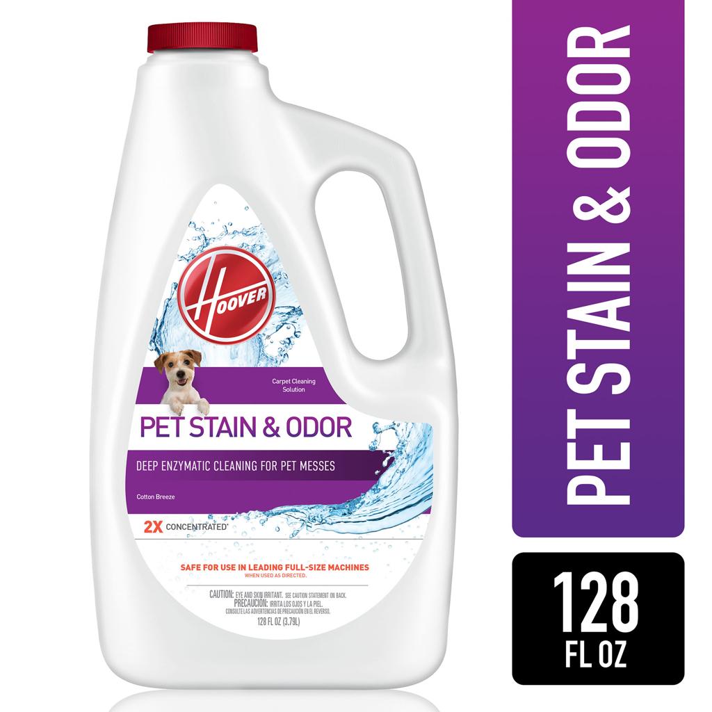 Hoover Pet Stain & Odor Carpet Cleaner Solution, 128Oz, AH30931 - $19.97