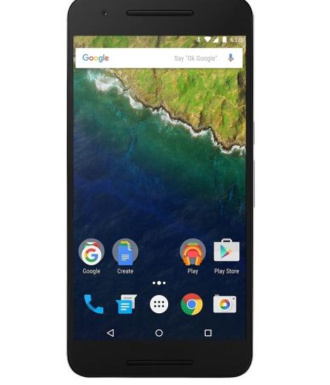 Huawei Refurbished  Nexus 6P 64GB Aluminum Best Buy $339.99