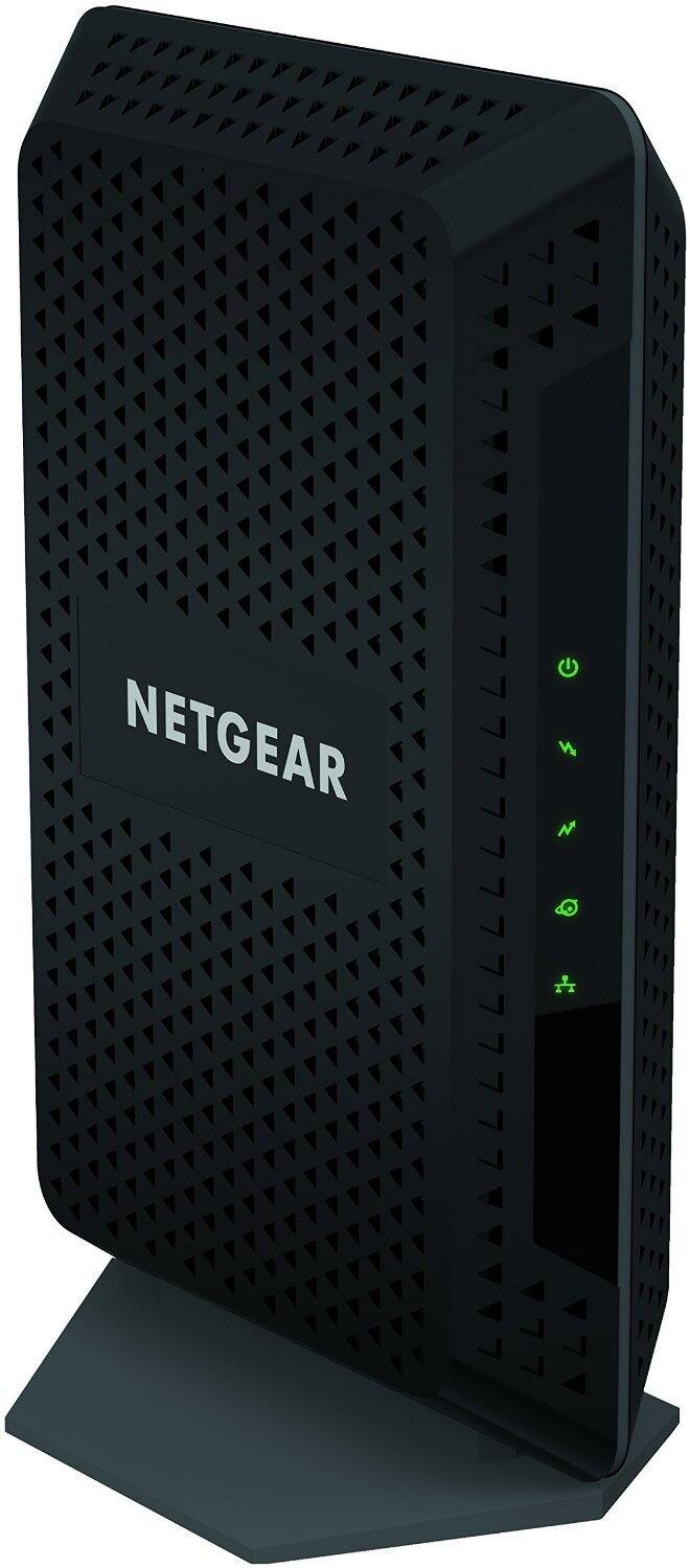 NETGEAR CM600 (24x8) DOCSIS 3.0 Cable Modem. For XFINITY by Comcast, Time Warner Cable, Cox, Charter & more (CM600-1AZNAS) - $79.99