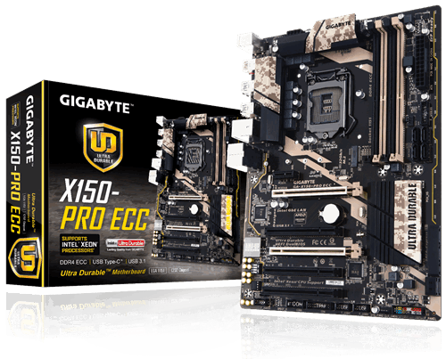 [New] GA-X150-PRO ECC INTEL C232 MOTHERBOARD $89.99 (s&h included)