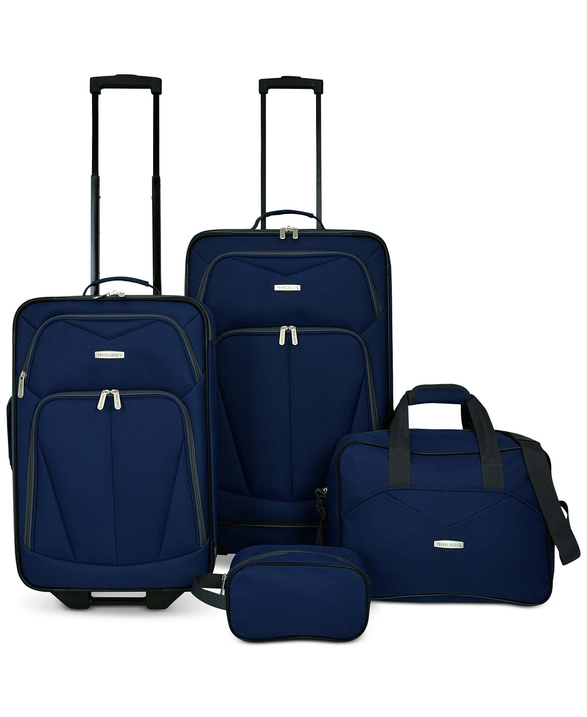 Kingsway 4-Pc Luggage Set for $49.99 + Free shipping at Macy's