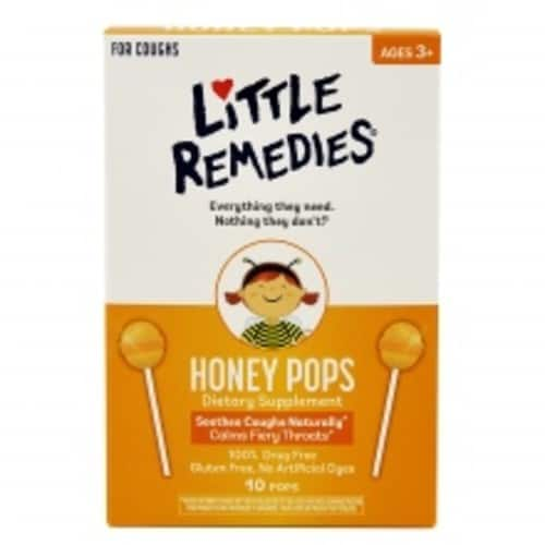 Little Remedies Sore Throat Pops, 10 Count $3.6 S&S add on item@amazon