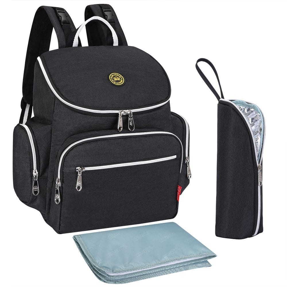 S-ZONE Multi-function Baby Diaper Bag Backpack $24.74@amazon