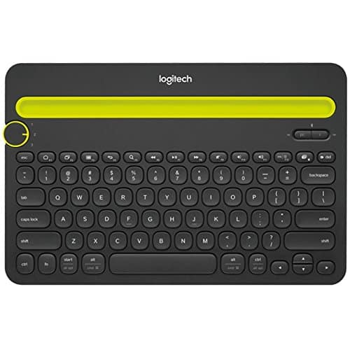 Bluetooth Multi-Device Keyboard for Computers, Tablets, and Smartphones (Black) $19.99@amazon
