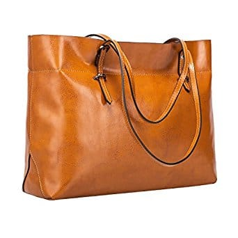 Women's Vintage Genuine Leather Tote Shoulder Bag Handbag $29.69+ fs@amazon