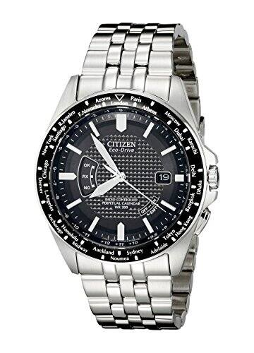 Citizen Eco-Drive Men's Perpetual Calendar Atomic Clock Watch for $241.99 at Amazon.com