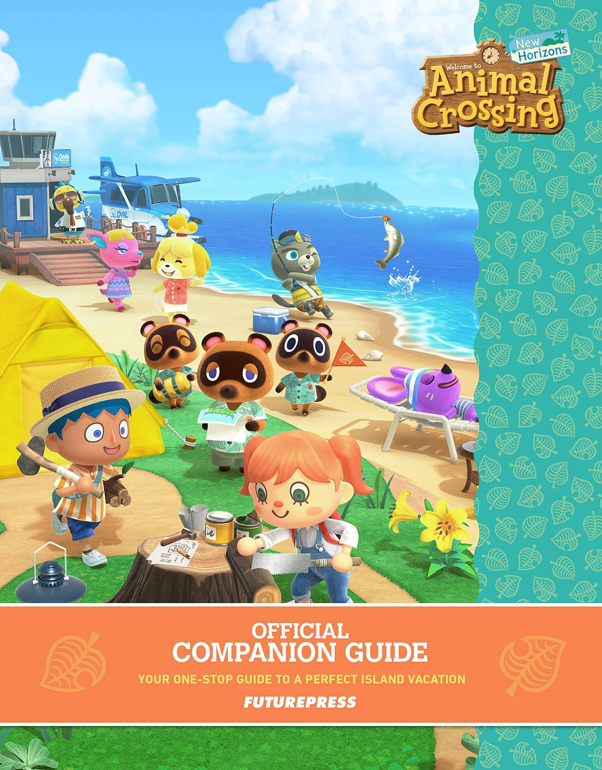 Nintendo Switch Animal Crossing: New Horizons Official Companion Strategy Guide