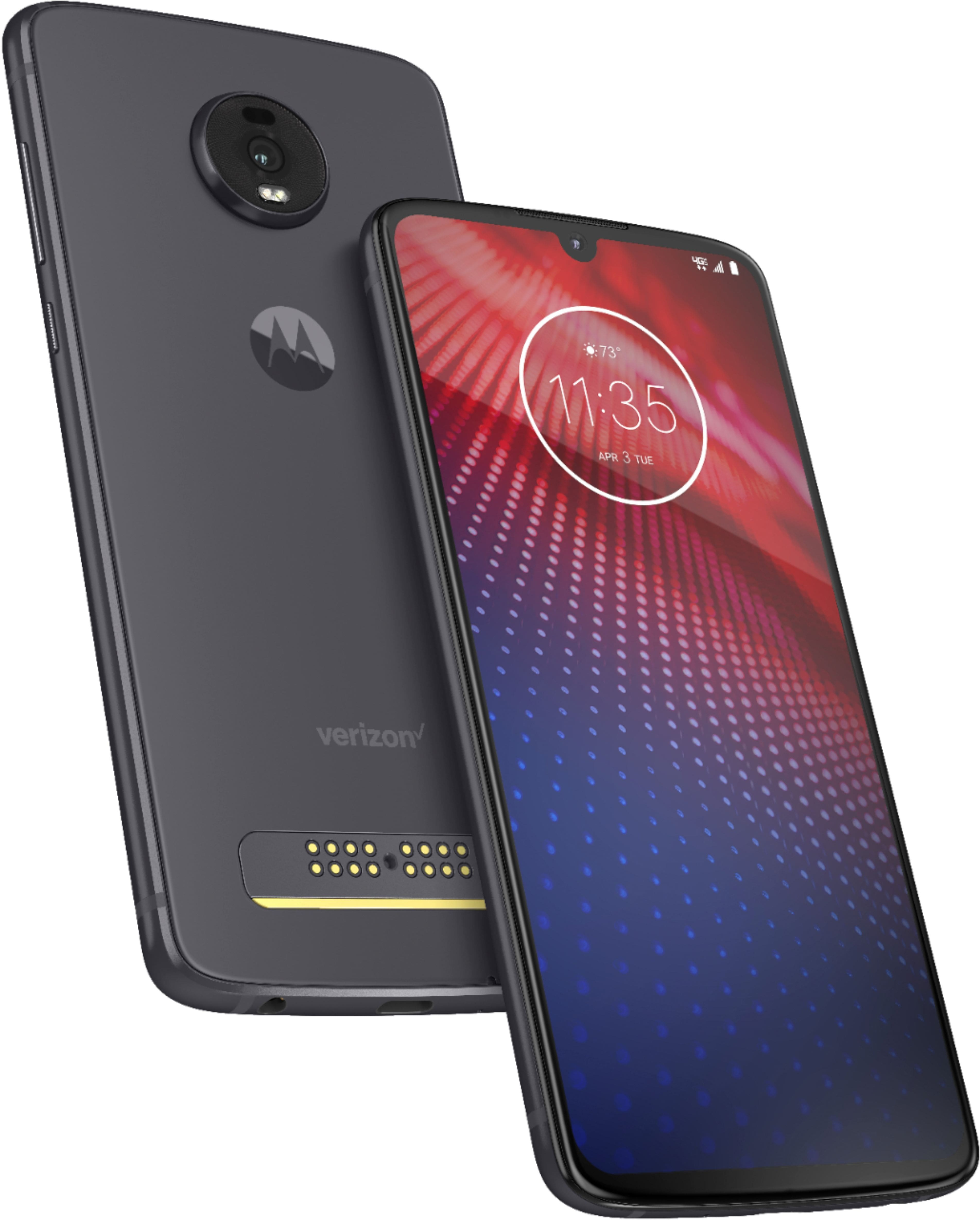 Motorola moto z⁴ Flash Gray (Verizon) New Line or Account - Best Buy $5/ Month With Monthly Bill Credits