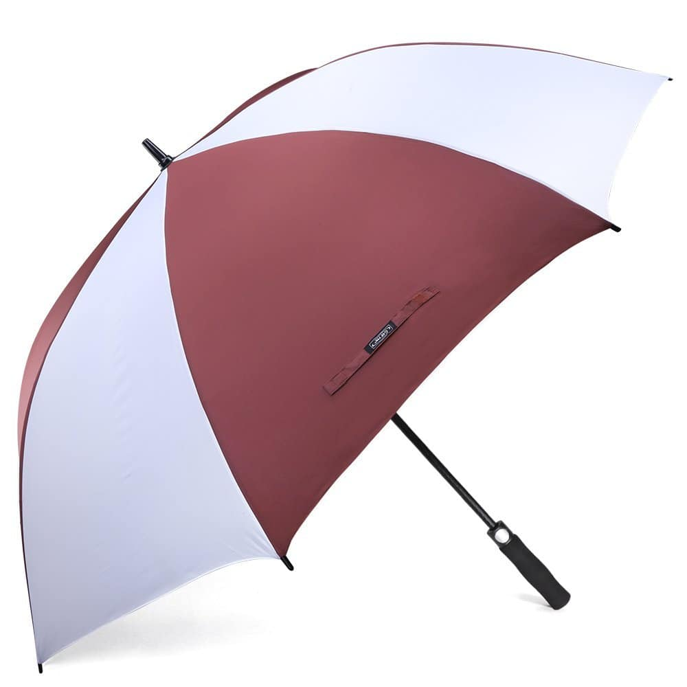 62 Inch Automatic Open Golf Umbrella from $10.68 free shipping with prime@amazon