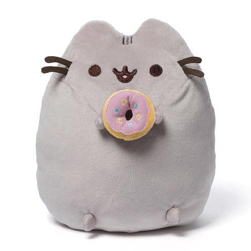 GUND Pusheen Snackable Donut Plush Stuffed Animal $12.6@amazon