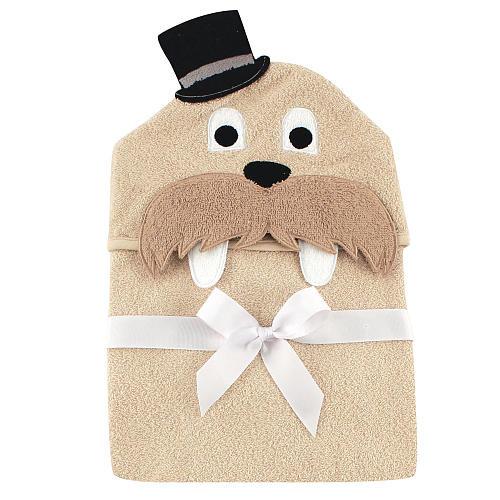 Hudson Baby Animal Face Hooded Towel, Classy Walrus $7.57 Add on item@amazon