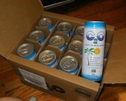 12-Pack of 17.5oz C2O Pure Coconut Water - $14.55