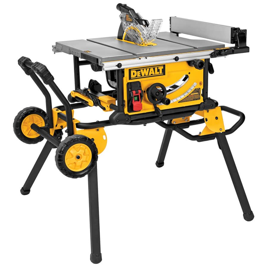 DEWALT 10 In Carbide Tipped Table Saw   DWE7491RS $469