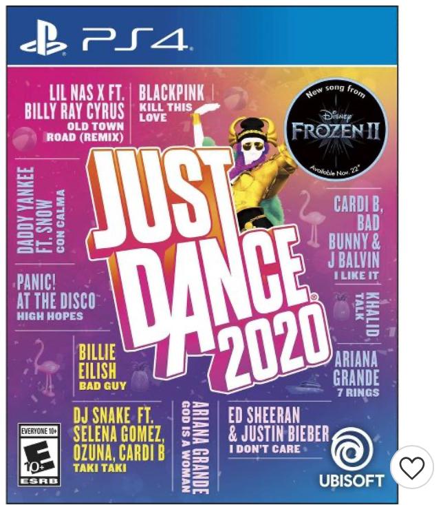 Just Dance 2020 PS4 - 17.99 at Target $17.99