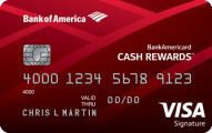 Bank of America Cash Rewards $150 Cash Signup Bonus - YMMV
