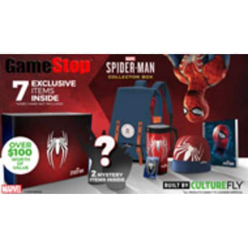Marvel's Spider-Man Collectors Box - Only at GameStop YMMV $21.68