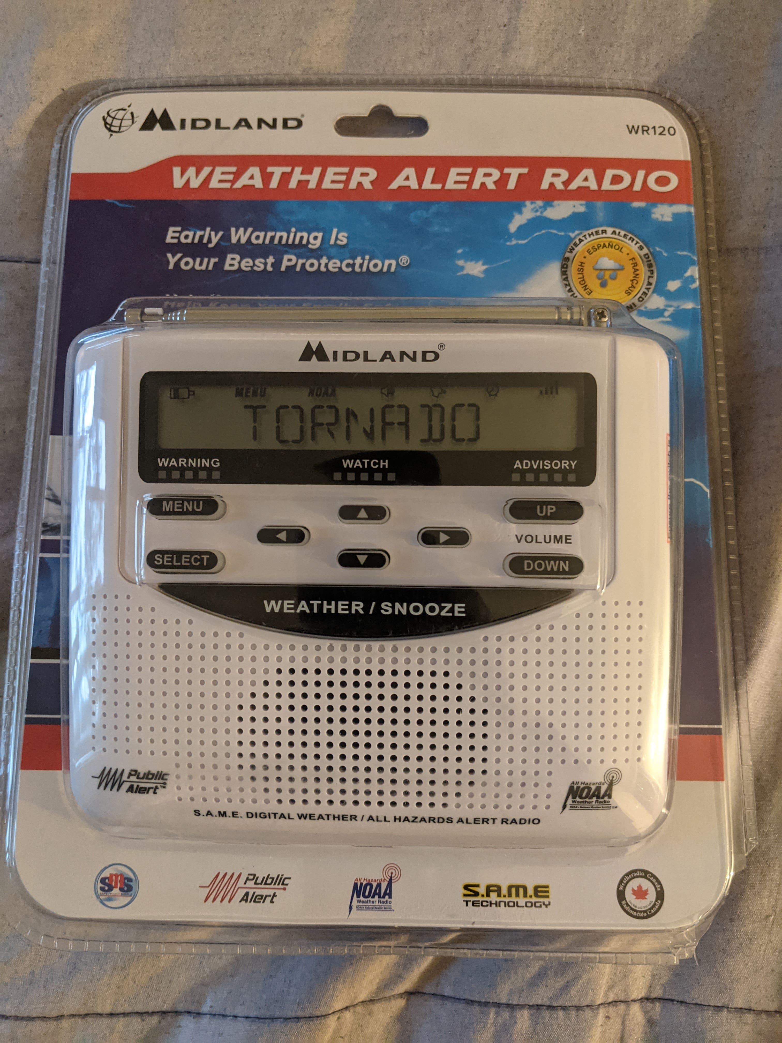 Walgreens: Midland - WR120, NOAA Emergency Weather Alert Radio  $3.79 ymmv