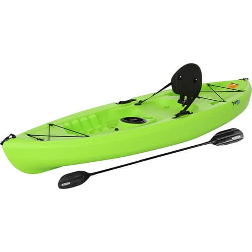 Lifetime Tahoma Kayak, Lime Green, with Paddle, 90816