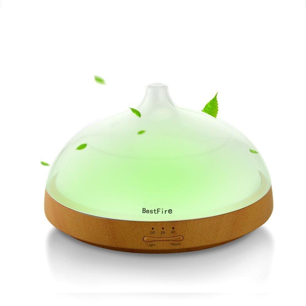 BestFire Essential Oil Diffuser / Ultrasonic Cool Mist Humidifier $23.39