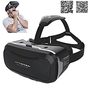 Smartphone 3D Virtual Reality VR Glasses Headset with Adjustable Lens $3.99