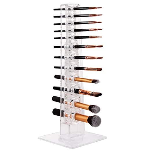 Acrylic Makeup Brush Holder/Organizer 12 Spaces - F/S Prime - $9.84
