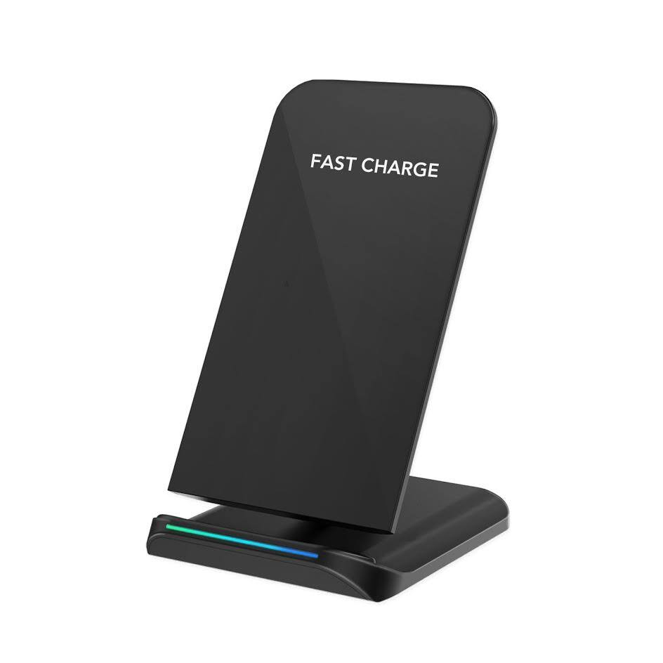 Qi Wireless Charging Pad for iPhone X/8/8 Plus, Galaxy Note 8/S8/S8 Plus/S7/S6 Edge $13.86