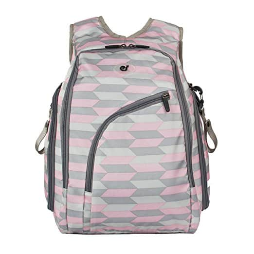 ECOSUSI Diaper Backpack Baby Diaper Bag with Changing Pad - 4 Colors - (Free Prime Shipping) $29.99