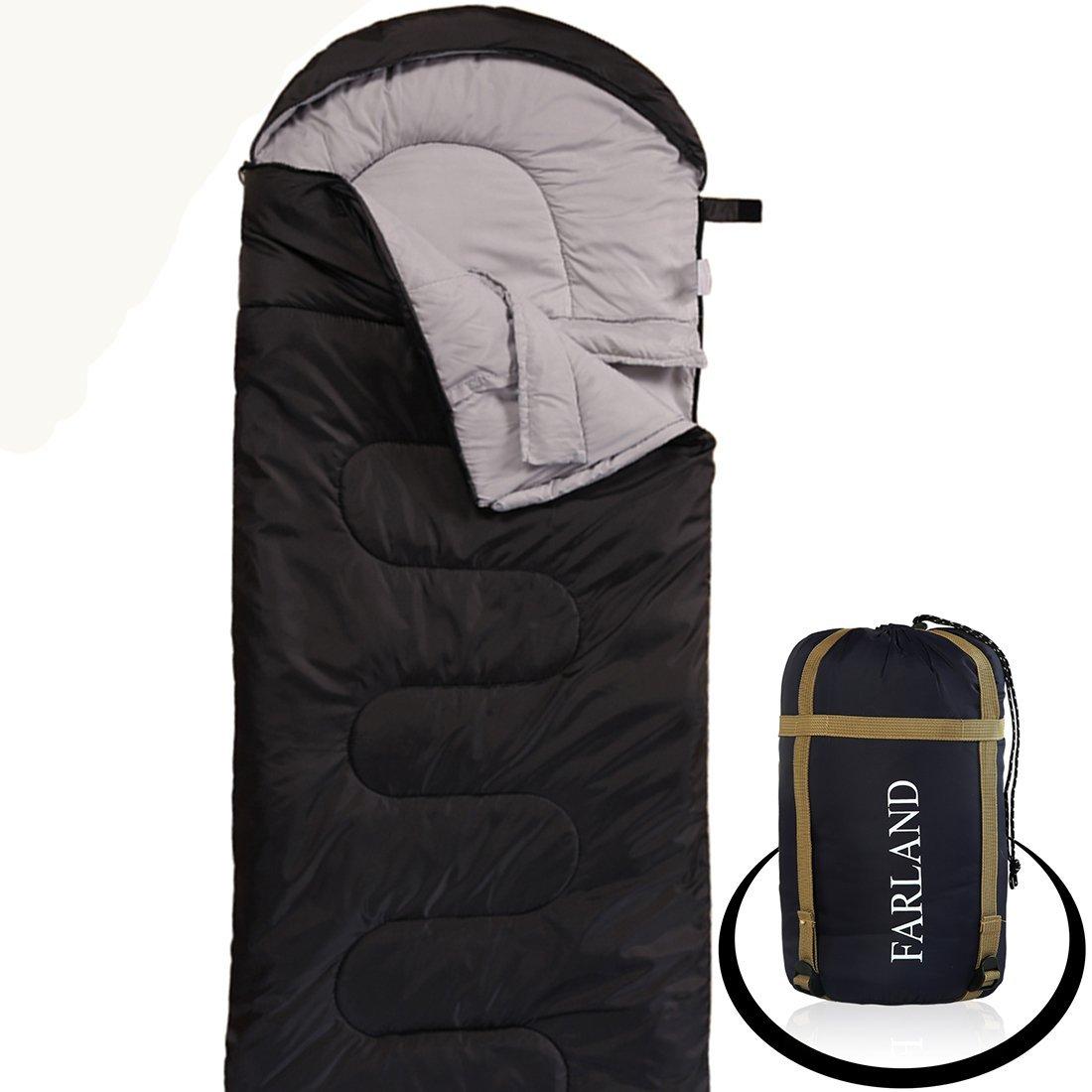 [Amazon] Farland 0-Degree Waterproof Camping Sleeping Bag - Various Colors - $25.67