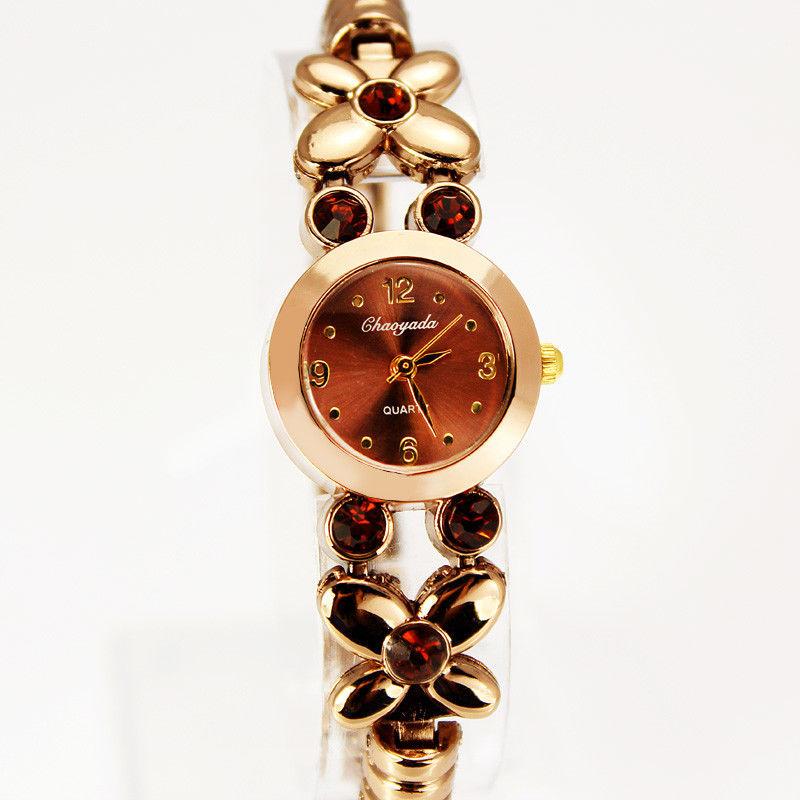 [Ebay] Women's Bronze Stainless Butterfly Wrist Watch $4.59