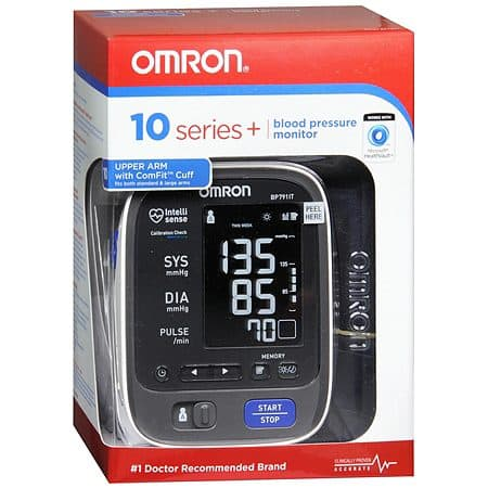 Omron 10 series+ blood pressure monitor $39 Walgreens B&M after coupons($109 MSRP) YMMV