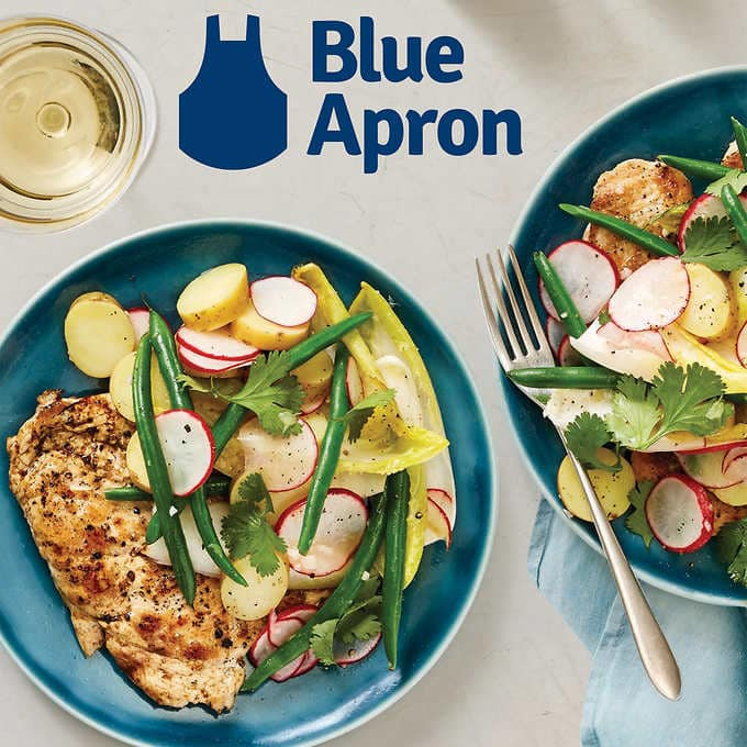 blue apron gift card costco costco members 2 pack 50 blue apron egift cards 832