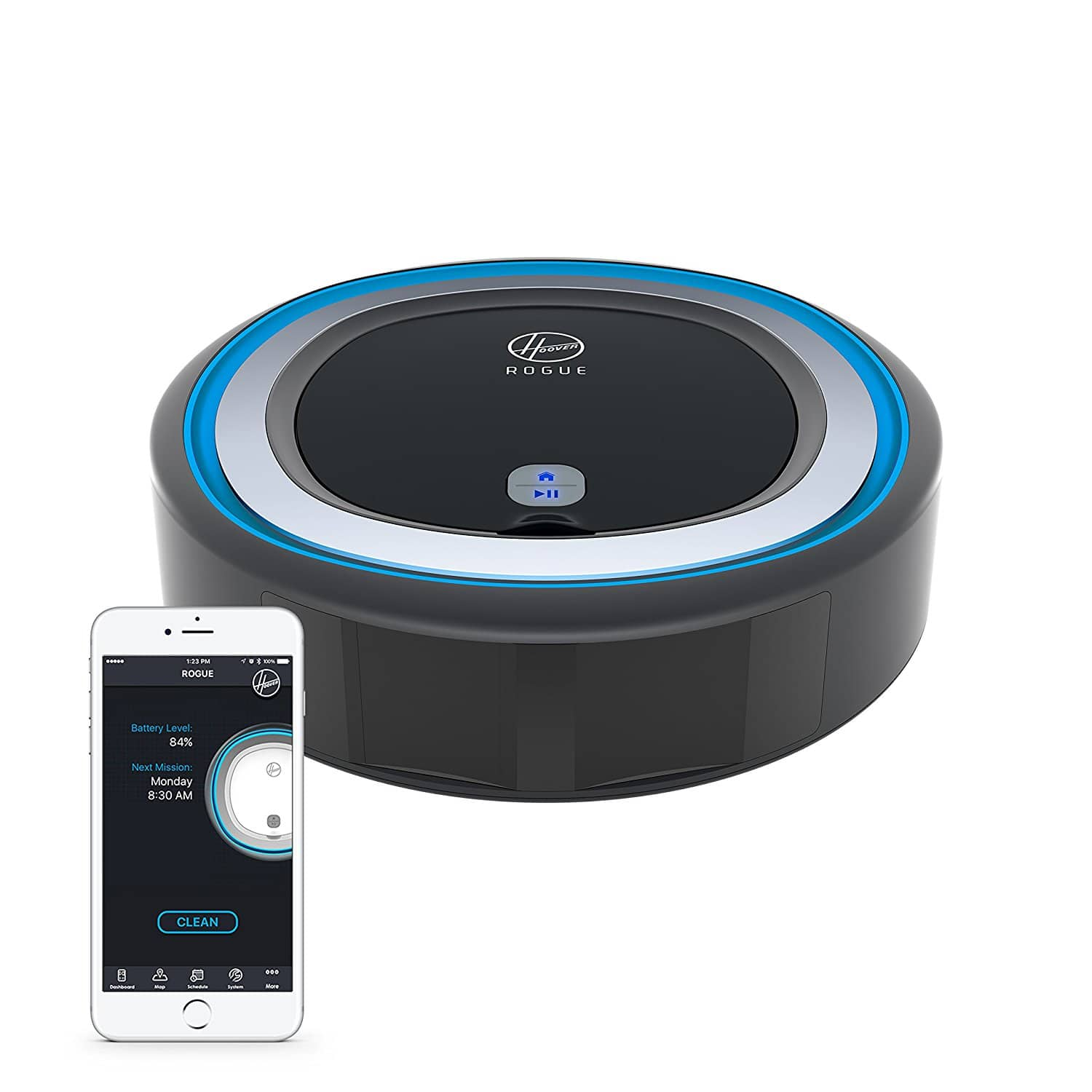 Hoover ROGUE 970 Smart Robot Vacuum Cleaner - $239.99