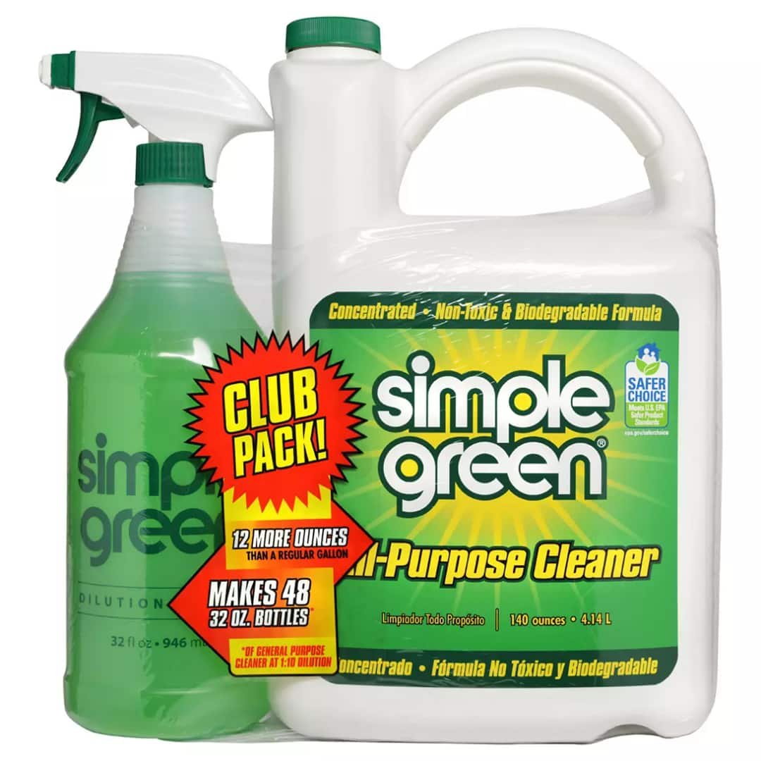 Simple Green All-Purpose Cleaner Concentrate 140 oz. plus 32 oz. Bonus Ready-to-Use Spray Bottle $4.98 @ BJ's