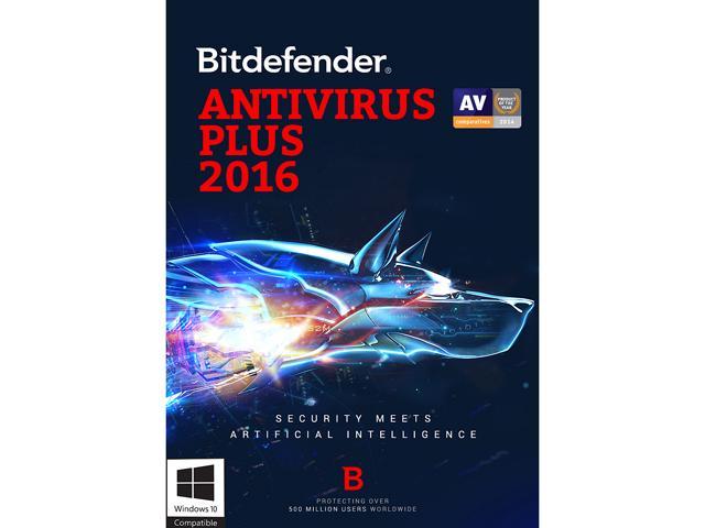 Bitdefender Antivirus Plus 2016 3 Devices 2 Year Download $30 AC @ Newegg