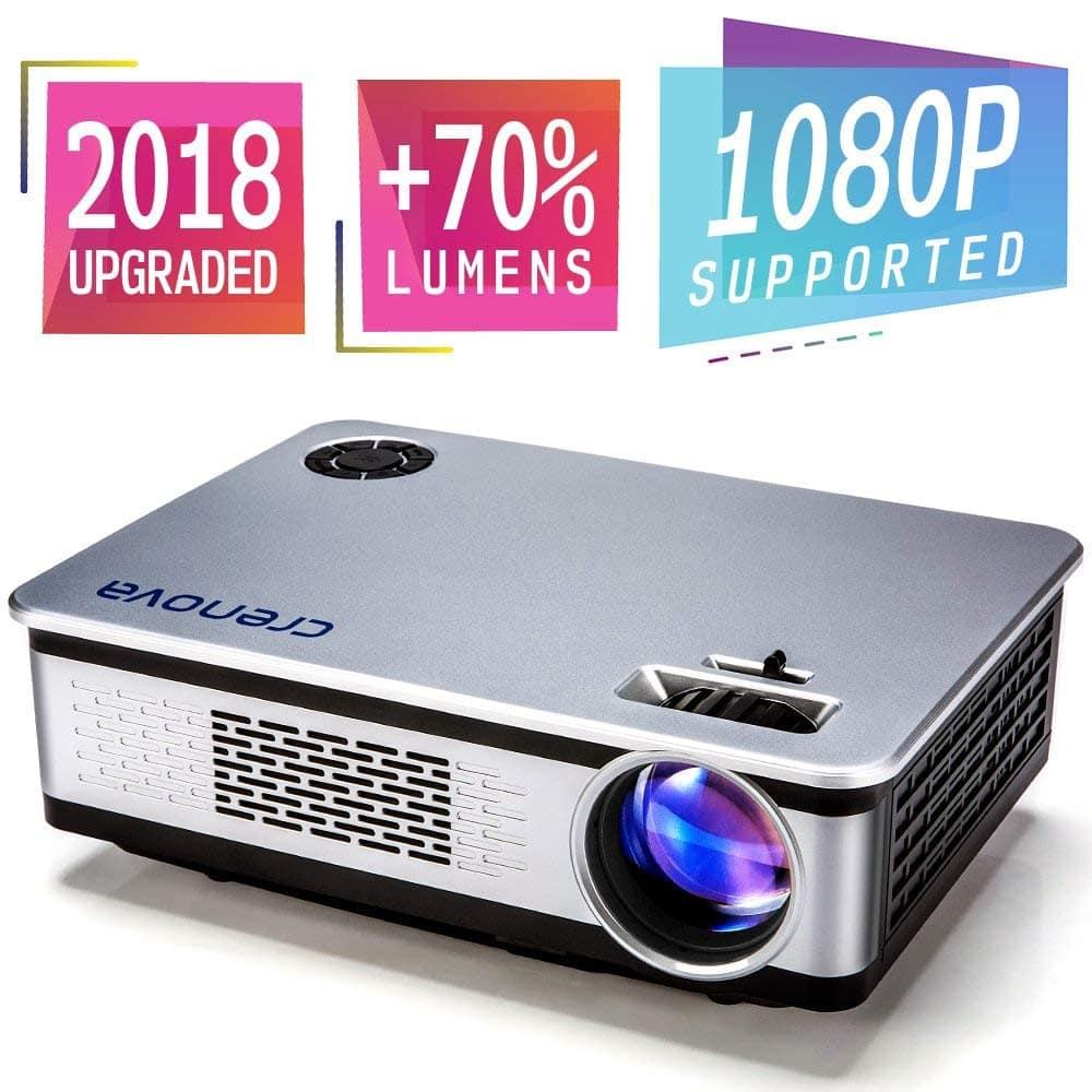 1080P Full HD Projector Multimedia Home Theater Movie Projector $118.99