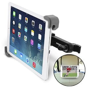 "Okra Universal 360° Degree Rotating Car Headrest Mount for iPad, Galaxy, & all Tablets up to 11"" (New 2015 Version) $8.39 AC @ Amazon.com FS w/ Prime"