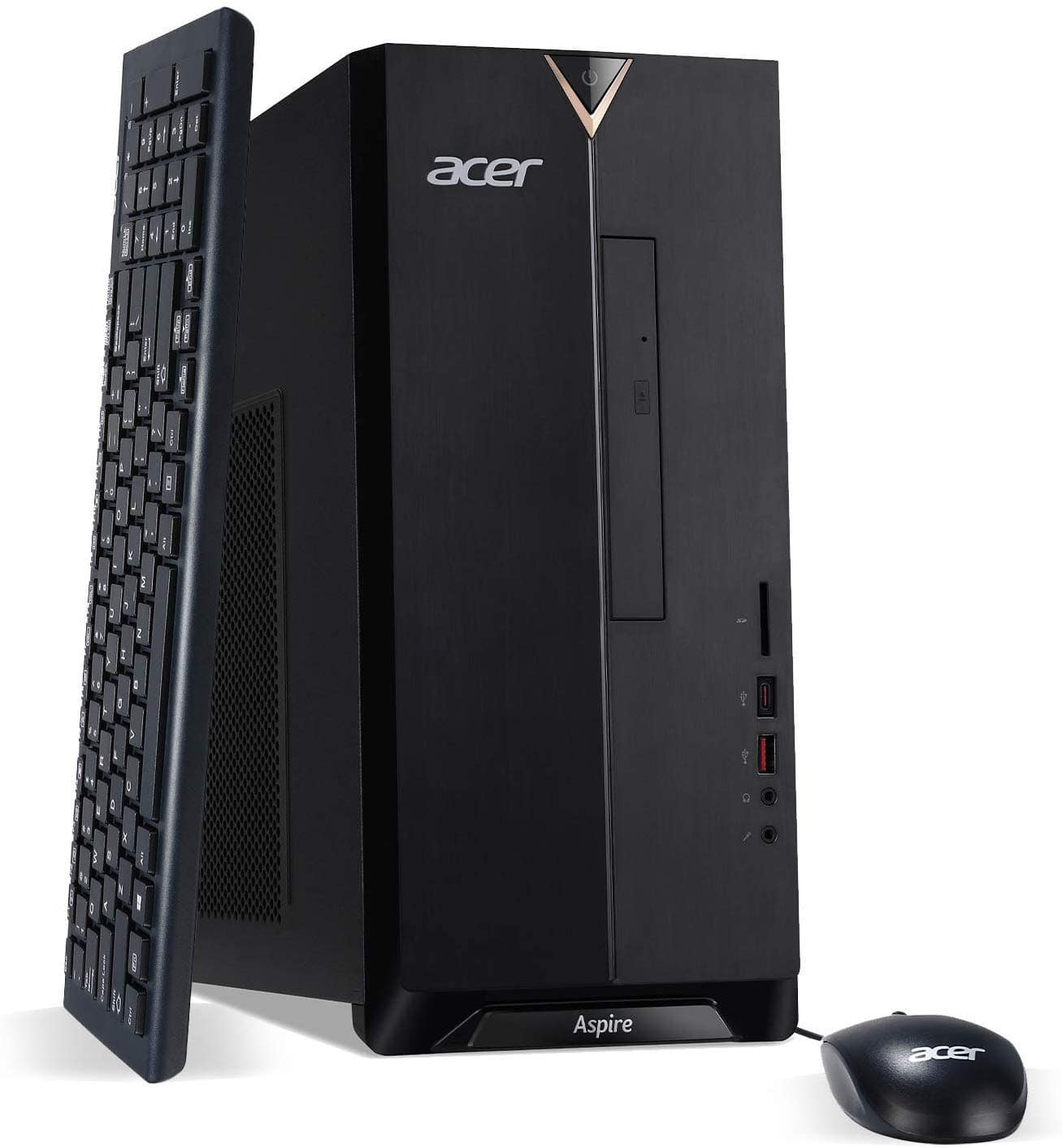 Acer Aspire TC-885-UA92 9th Gen Intel Core i5-9400, 12GB DDR4, 512GB SSD, 8X DVD, 802.11ac WiFi, Bluetooth 5.0, USB 3.1 Type C,  $499 shipped @ Amazon