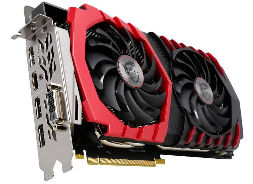 MSI Nvidia GTX1080 8gb $655 MSI GeForce GTX 1060 $335 shipped
