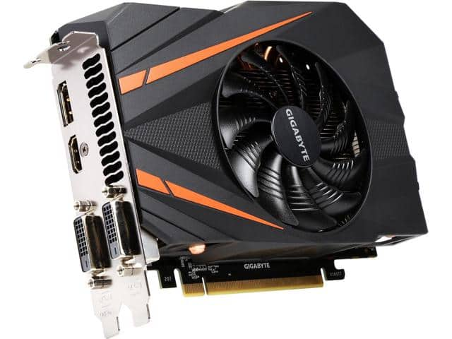 Nvidia geforce 1060 6gb $345-$355 shipped single fan smaller cards Newegg