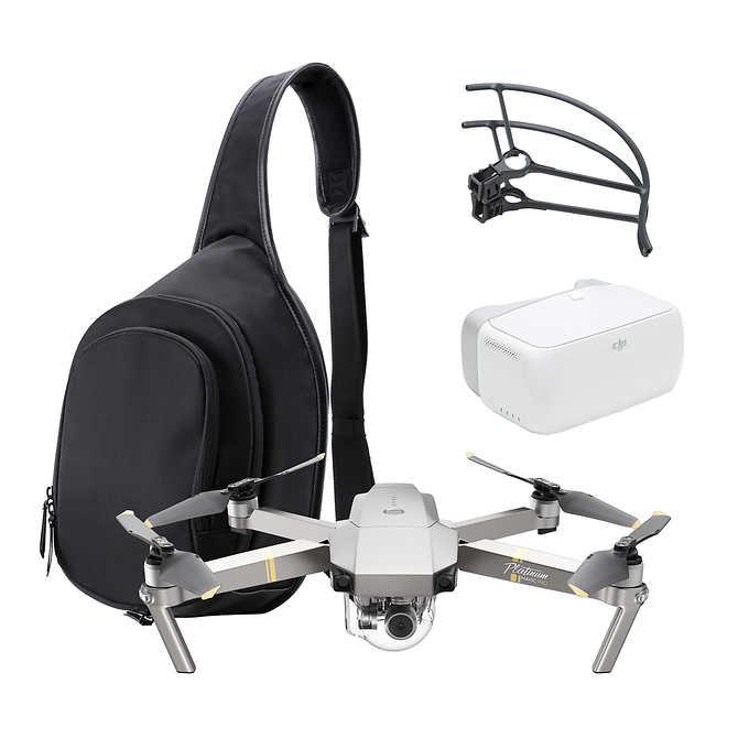 Costco: DJI Mavic Pro Platinum Aerial Camera Bundle