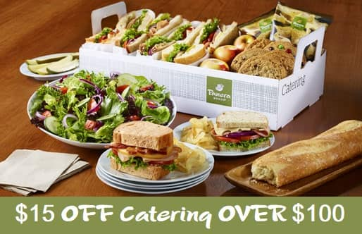 $15 off catering orders over $100