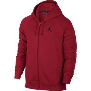 Men Jordan Flight Fleece Full-Zip Hoodie Gym Red/Black [Z]823064-687  $ 44.99 @Ebay $44.99