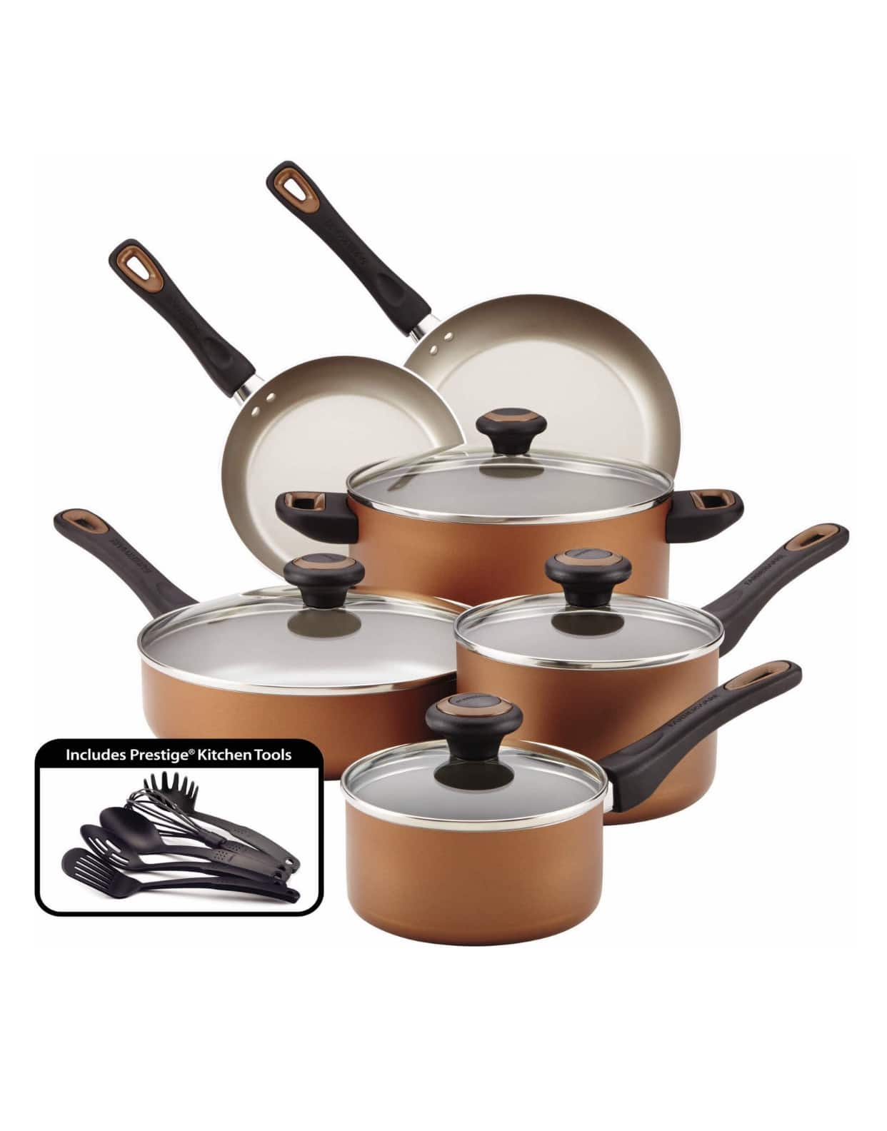 Faberware High-Performance Nonstick Cookware Set, 15 Piece - In store only $15